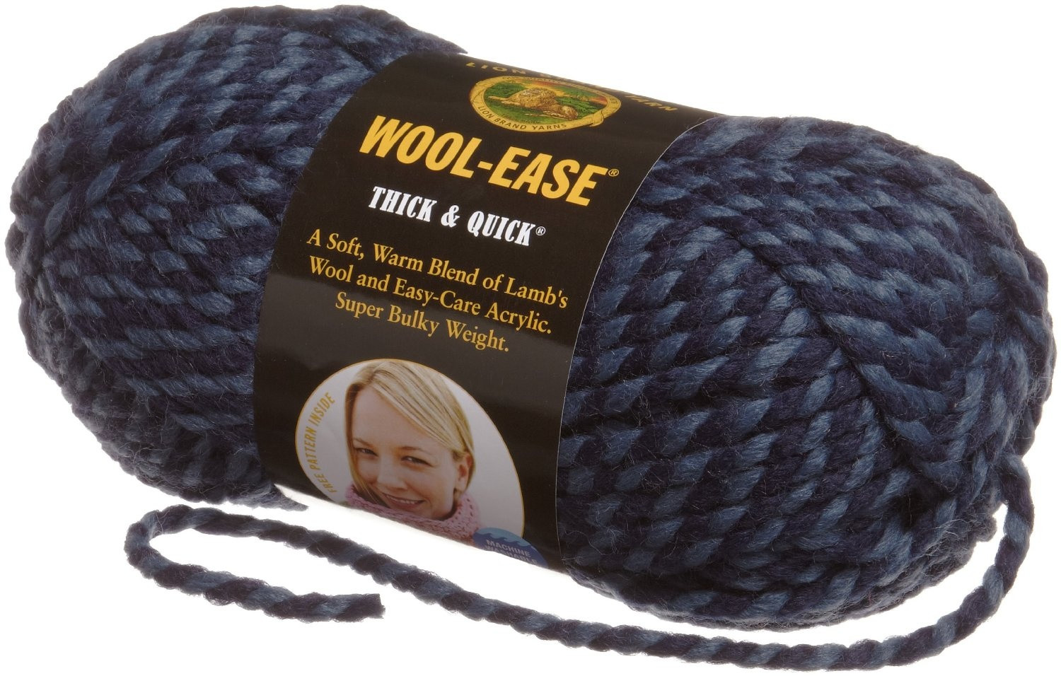 Thick Wool Yarn Inspirational Lion Brand Yarn 640 136f Wool Ease Thick and Quick Yarn Of Wonderful 49 Pictures Thick Wool Yarn