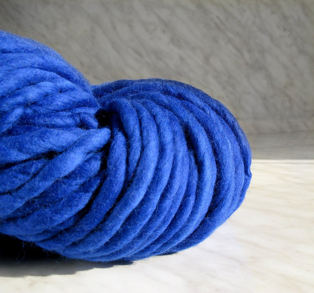 Thick Yarn Blanket Beautiful Super Super Bulky Yarn Extra Chunky Yarn atlas Royalblue 16 Of Perfect 41 Images Thick Yarn Blanket