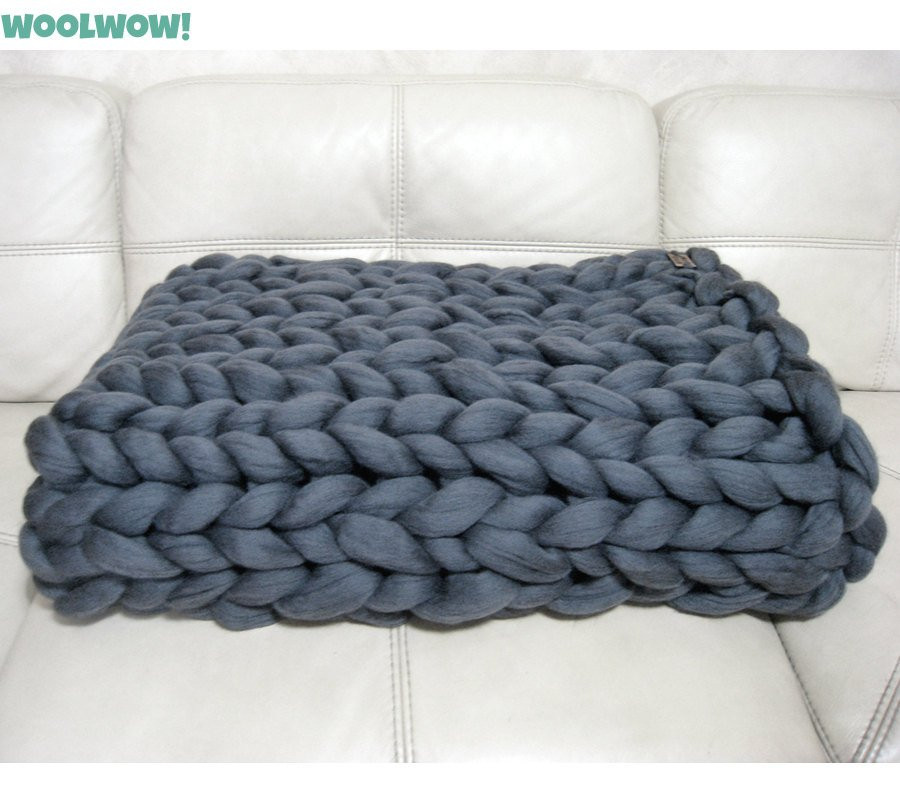 Thick Yarn Blanket Best Of Super Chunky Blanket Giant Knitted Merino Wool Throw by Of Perfect 41 Images Thick Yarn Blanket