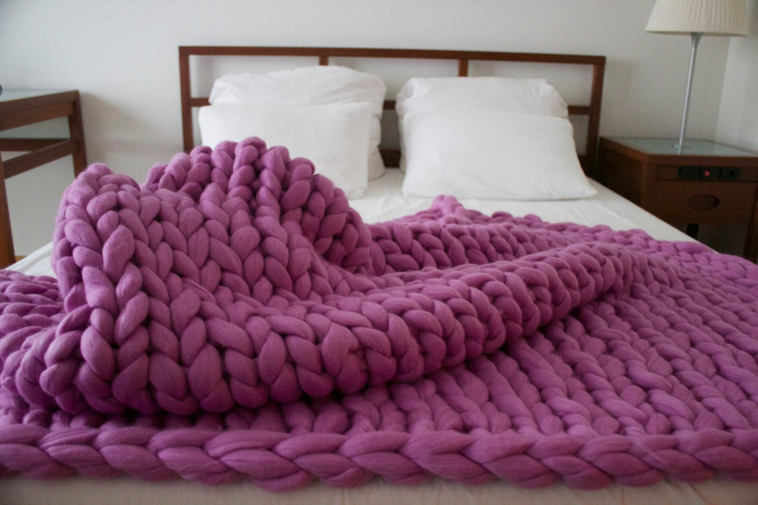 Thick Yarn Blanket Elegant Sale Chunky Knit Blanket Merino Wool Blanket Chunky by Of Perfect 41 Images Thick Yarn Blanket