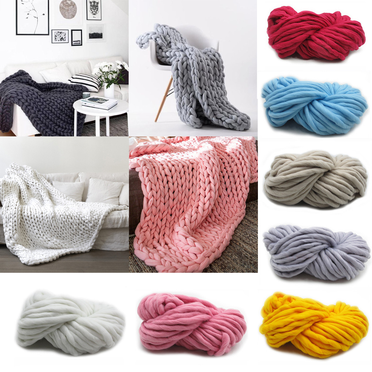 Thick Yarn Blanket Elegant soft Warm Handmade Chunky Knit Blanket Thick Yarn Of Perfect 41 Images Thick Yarn Blanket