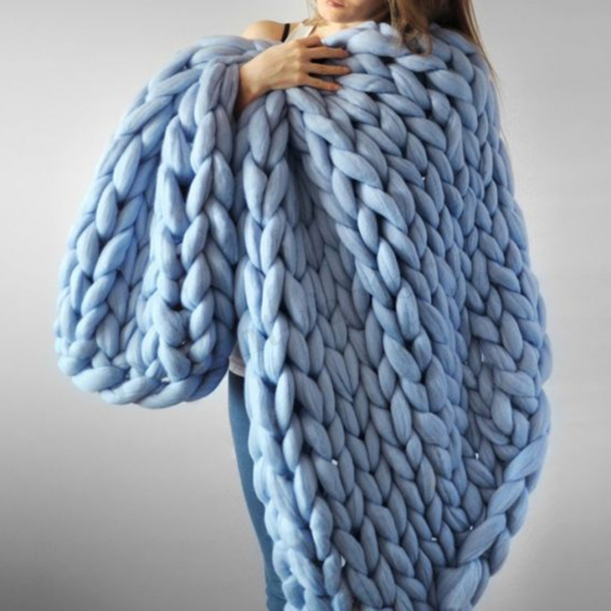 Thick Yarn Blanket Inspirational soft Warm Hand Chunky Knit Blanket Thick Yarn Wool Of Perfect 41 Images Thick Yarn Blanket