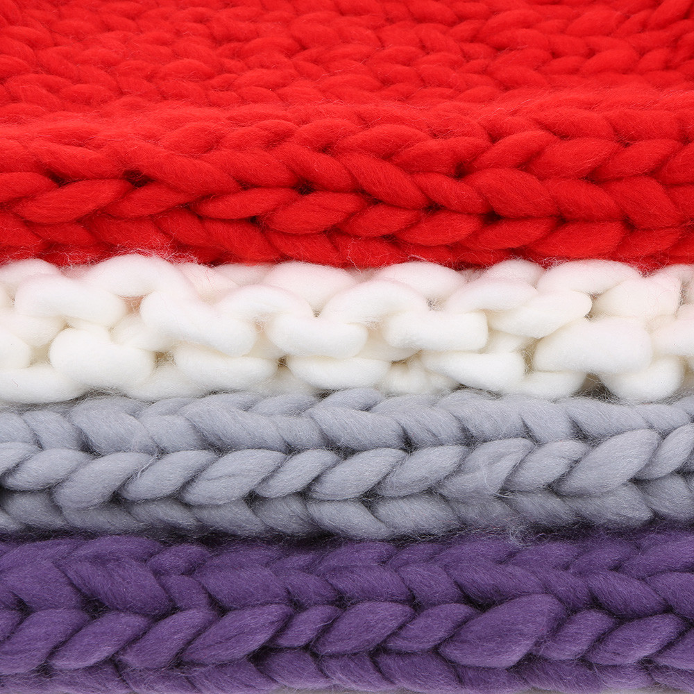 Thick Yarn Blanket Lovely Warm Chunky Knit Blanket Thick Yarn Bulky sofa Throw Of Perfect 41 Images Thick Yarn Blanket