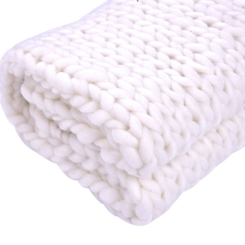 Thick Yarn Blanket New 120 150cm Chunky Crochet Knit Wool Blanket Thick Yarn Of Perfect 41 Images Thick Yarn Blanket