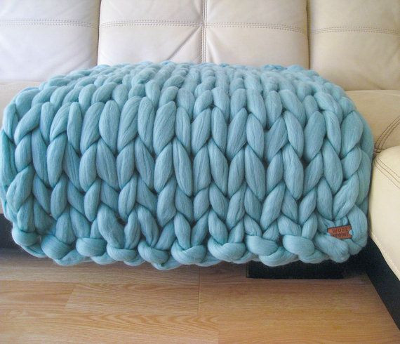Thick Yarn Blanket New Super Chunky Baby Blanket Giant Knitted Merino Wool by Of Perfect 41 Images Thick Yarn Blanket