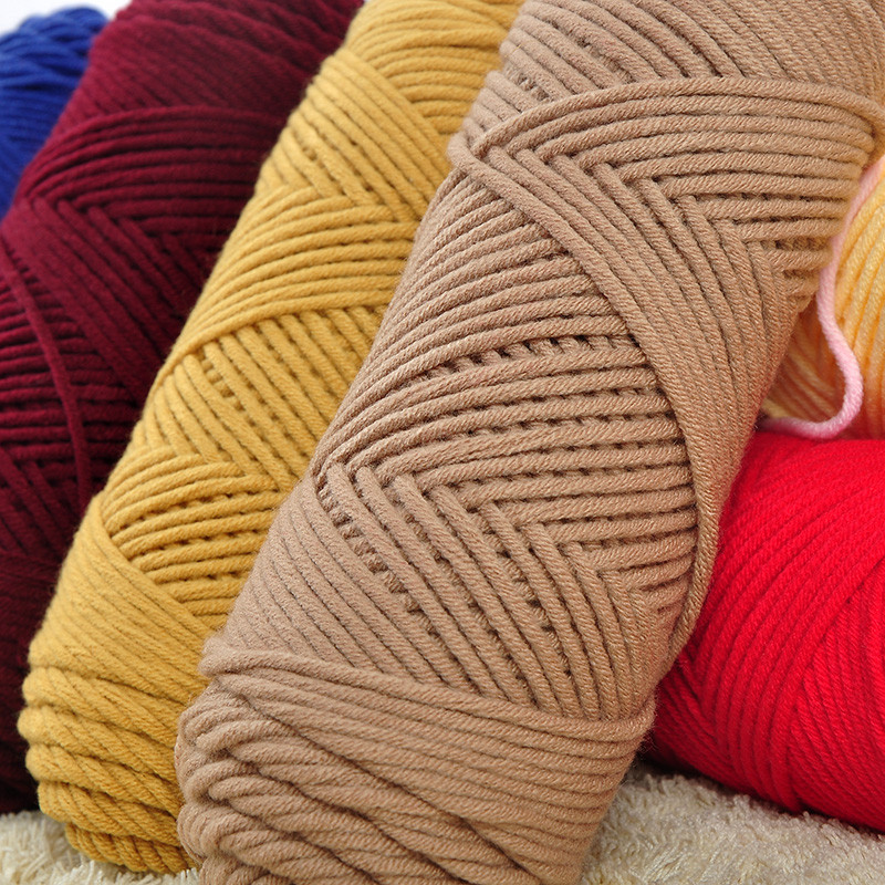 Thick Yarn Crochet Awesome 3 Pcs Lot Natural soft Silk Milk Cotton Yarn Thick Yarn Of Superb 49 Models Thick Yarn Crochet