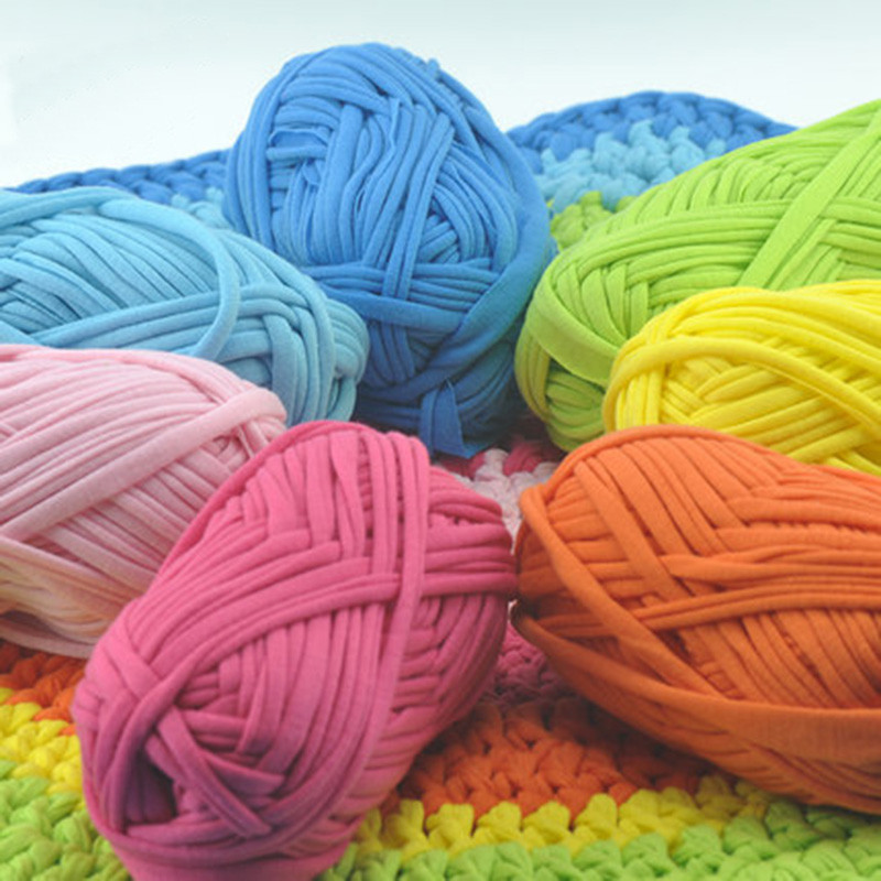 Thick Yarn Crochet Elegant 2balls=200g Thick Yarn for Knitting soft Carpet Handbag Of Superb 49 Models Thick Yarn Crochet
