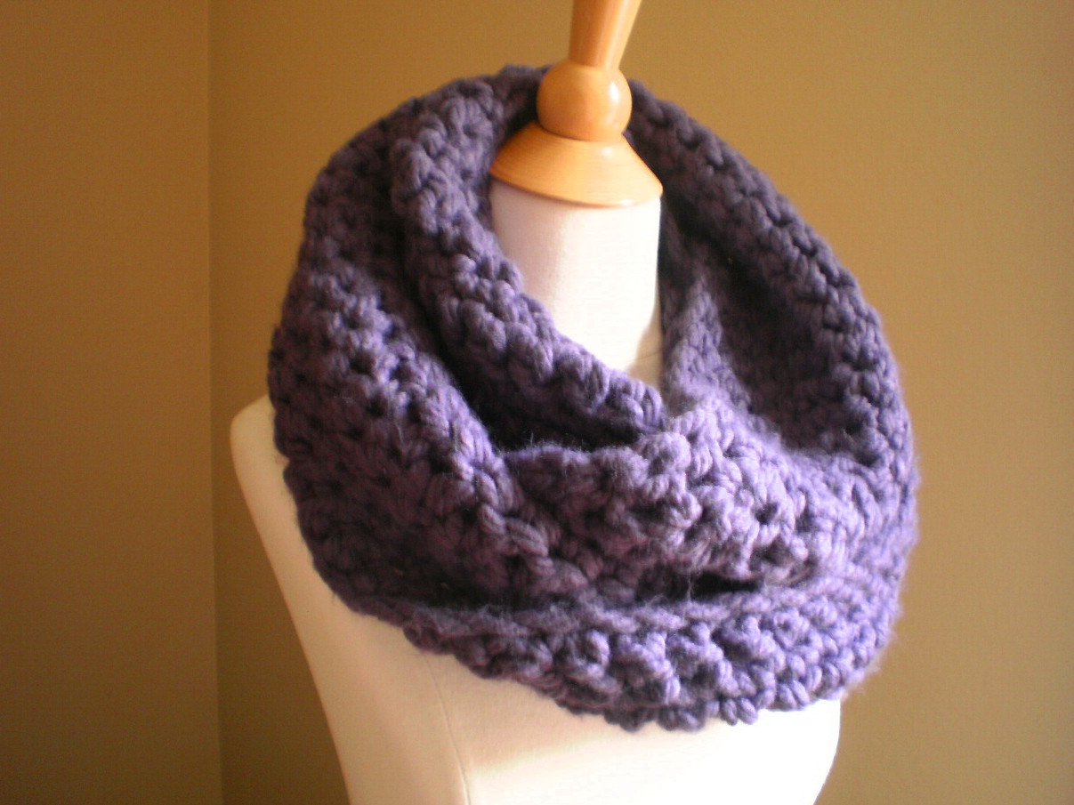 crochet scarf patterns thick yarn