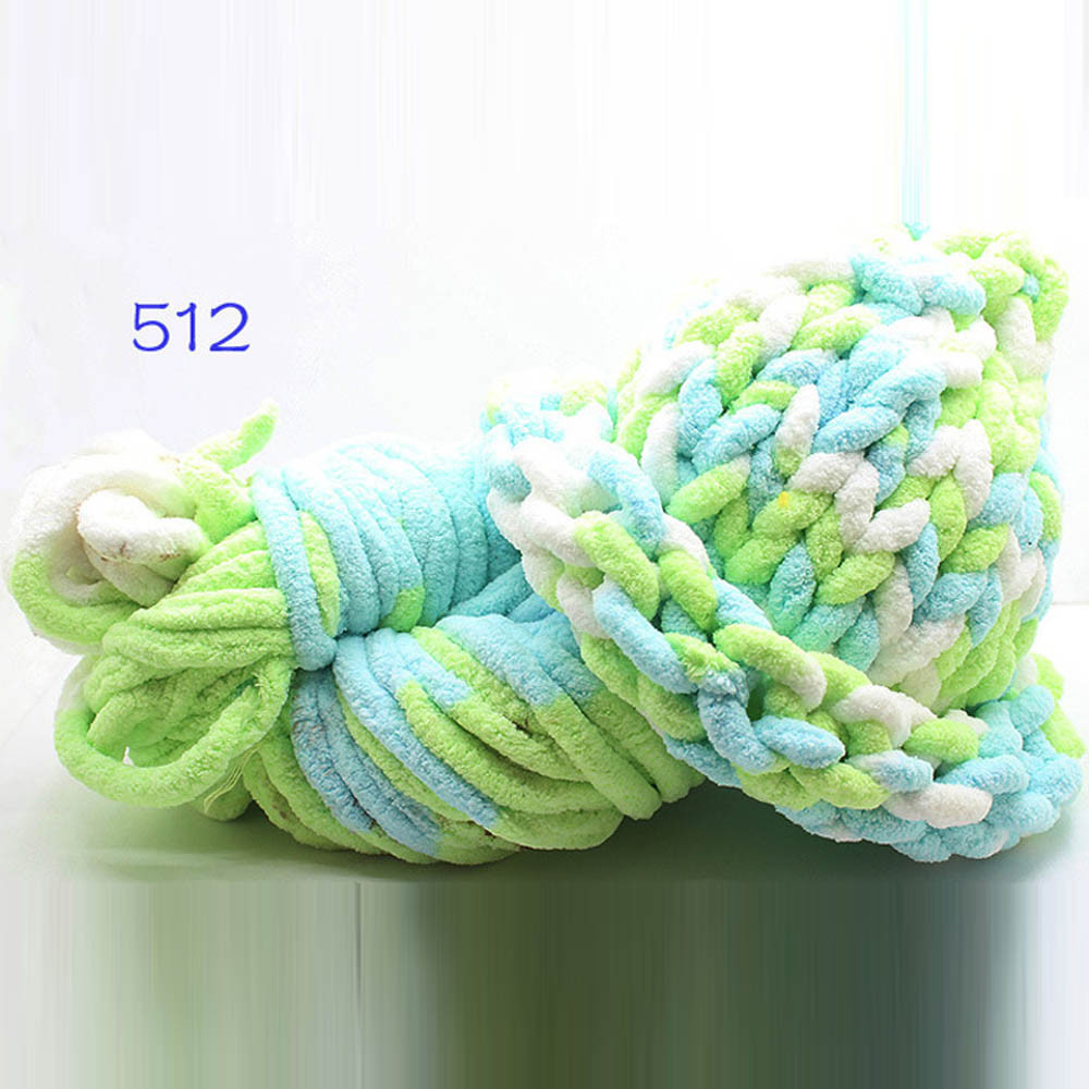 Crochet Knitting Yarn Ice Line Thick Thread Scarf Shoes