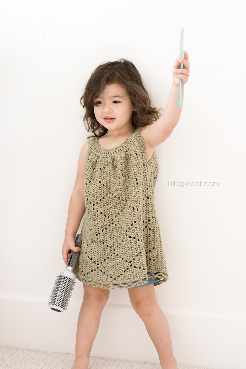Toddler Dress Patterns Awesome Free Crochet Pattern Summer Diamonds toddler Dress – Make Of Contemporary 40 Pictures toddler Dress Patterns