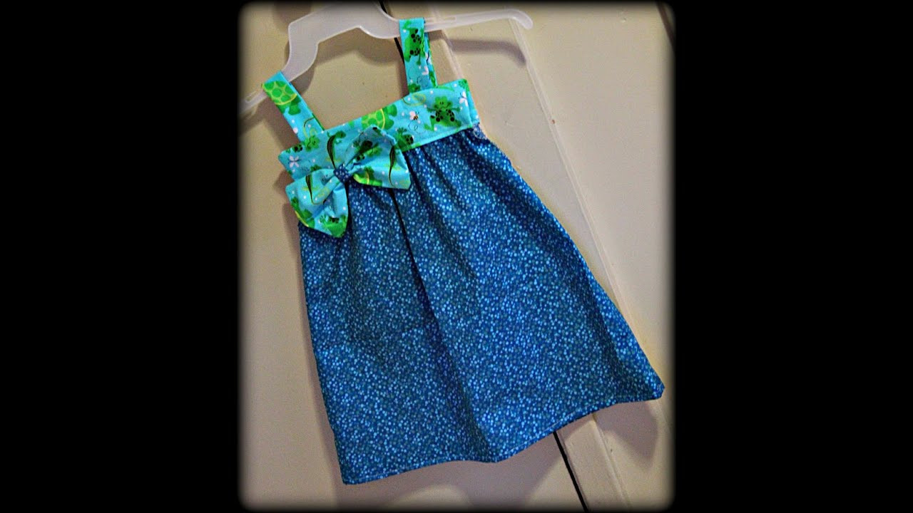Toddler Dress Patterns Elegant toddler Sundress with Bow Sewing for Beginners Viyoutube Of Contemporary 40 Pictures toddler Dress Patterns