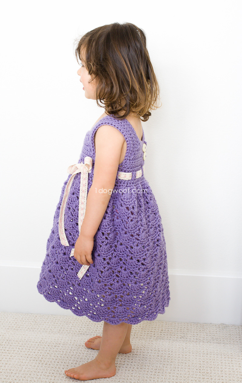 Toddler Dress Patterns Lovely Crochet Purple Princess Dress E Dog Woof Of Contemporary 40 Pictures toddler Dress Patterns