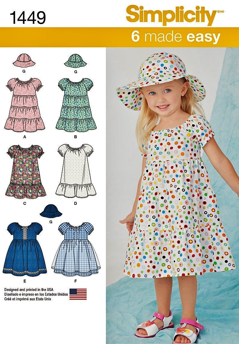 Toddler Dress Patterns Luxury Baby and toddler Peasant Dress Pattern Easy Pullover Of Contemporary 40 Pictures toddler Dress Patterns