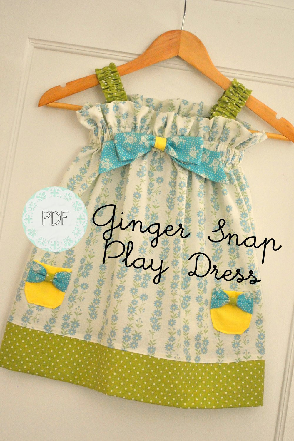 Toddler Dress Patterns New Ginger Snap Play Dress Baby toddler Girls Easy Beginner Of Contemporary 40 Pictures toddler Dress Patterns
