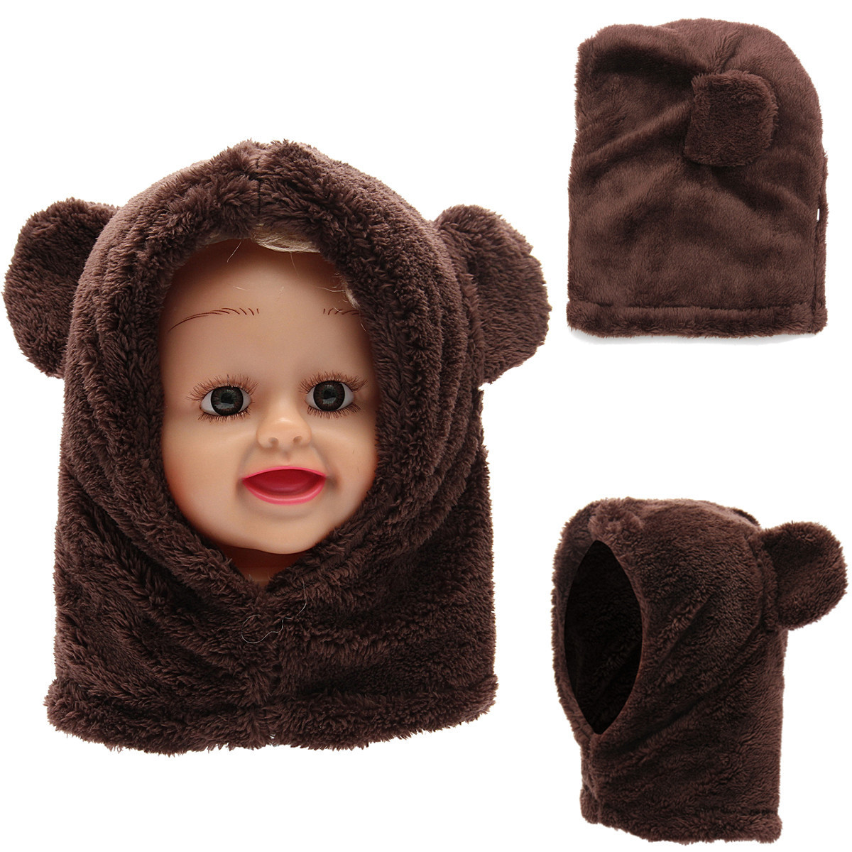 Toddler Scarf Best Of toddler Boy Girl Baby Kids Cute Warm Winter Fluffy Bear Of Attractive 43 Pics toddler Scarf