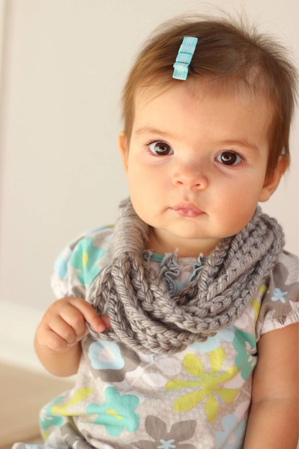 Baby Scarf Toddler Scarf Chain Loop Scarf Chain Scarf