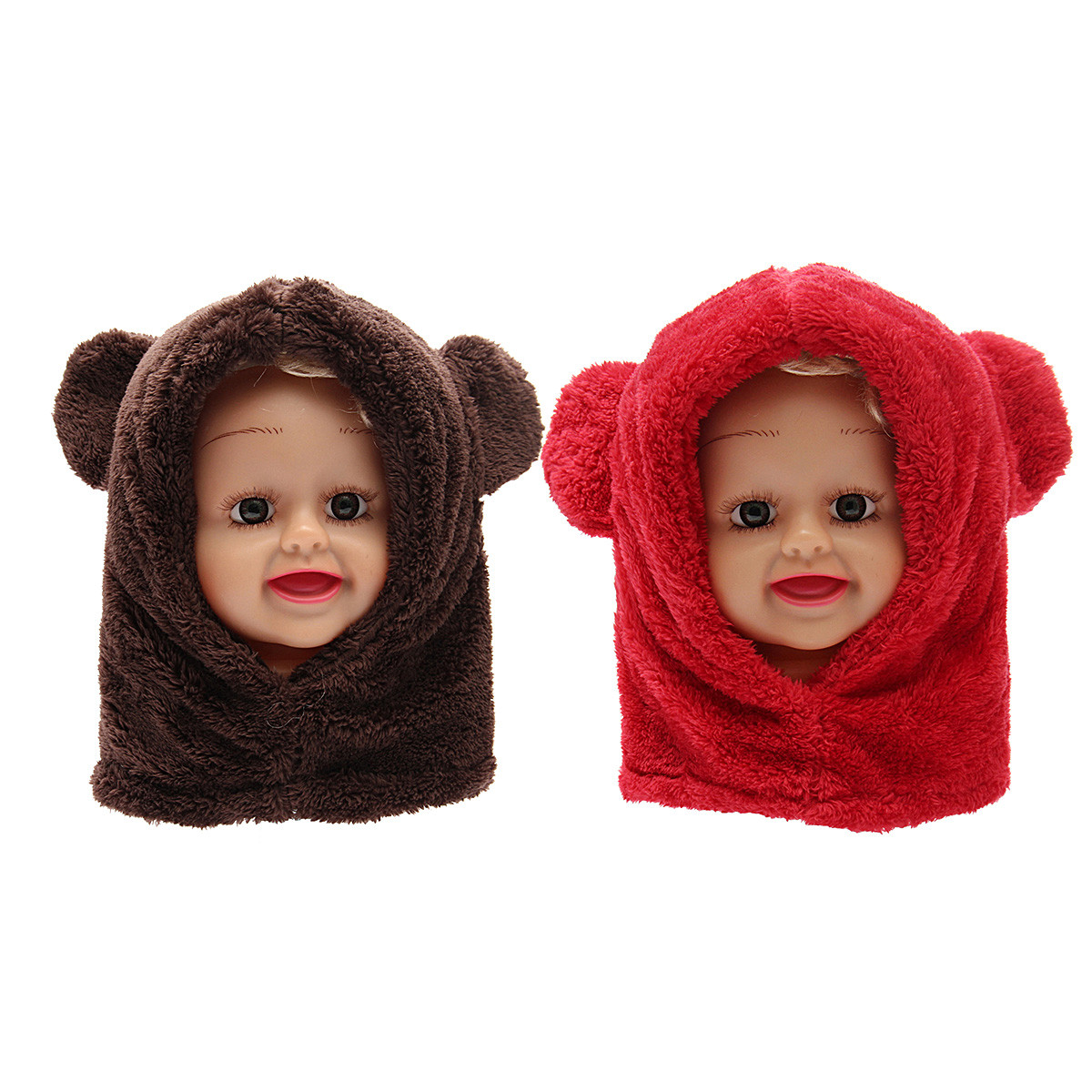 Toddler Scarf Lovely toddler Boy Girl Baby Kids Cute Warm Winter Fluffy Bear Of Attractive 43 Pics toddler Scarf