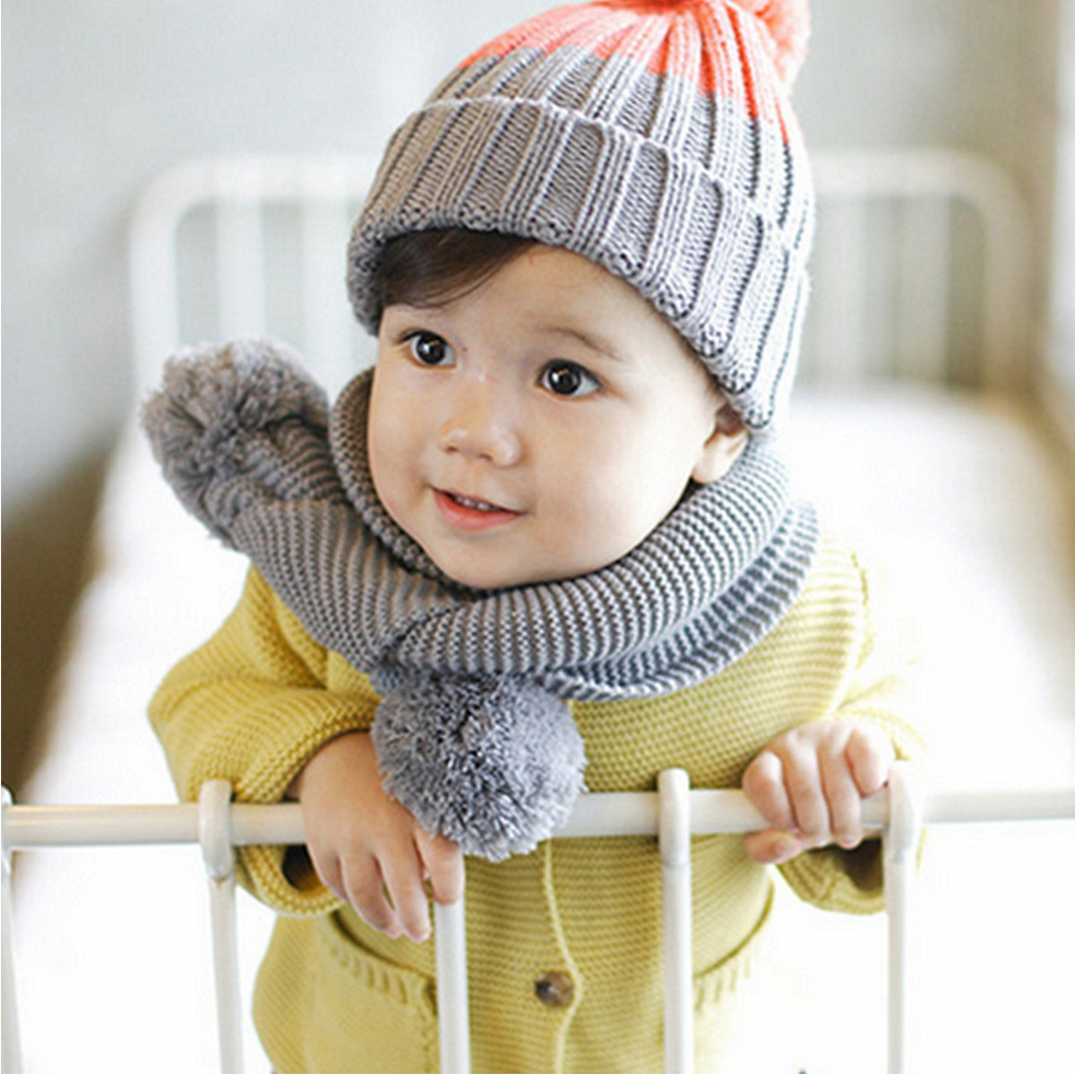 Toddler Scarf Luxury Winter Children Baby Boys Girls Knitted Neck Warm Scarf Of Attractive 43 Pics toddler Scarf