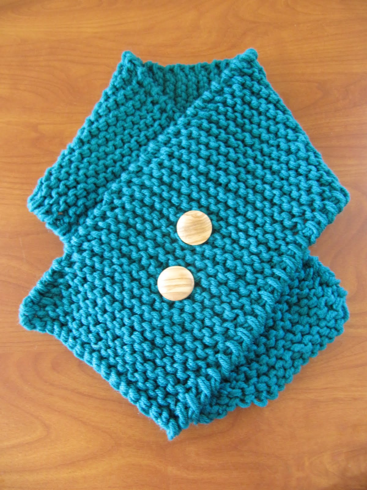 Hipknitized Free Pattern Easy Peasy Toddler Scarf