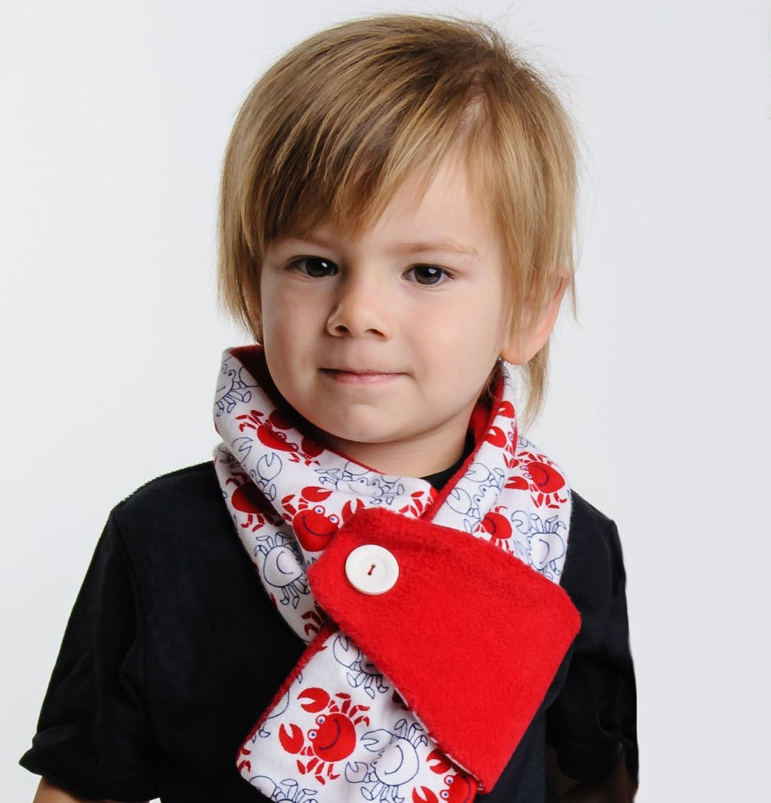 Toddler Scarf New Kids toddler Adjustable Winter Scarf Red and White Hand Made Of Attractive 43 Pics toddler Scarf