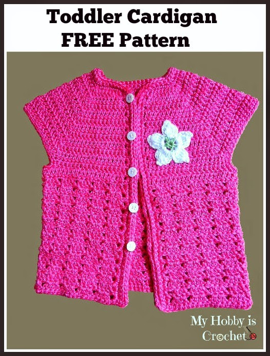 Toddler Sweater Crochet Pattern Awesome My Hobby is Crochet toddler Short Sleeved Cardigan Of Attractive 41 Models toddler Sweater Crochet Pattern