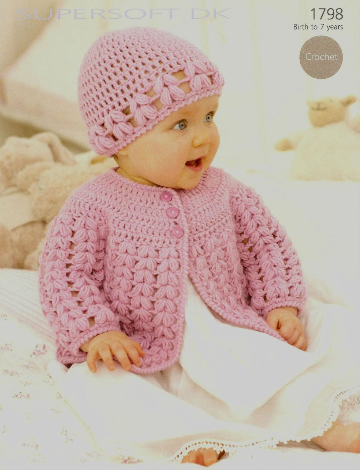 Toddler Sweater Crochet Pattern Inspirational Crochet Baby Cardigan and Hat Vintage Pattern Size Newborn to Of Attractive 41 Models toddler Sweater Crochet Pattern