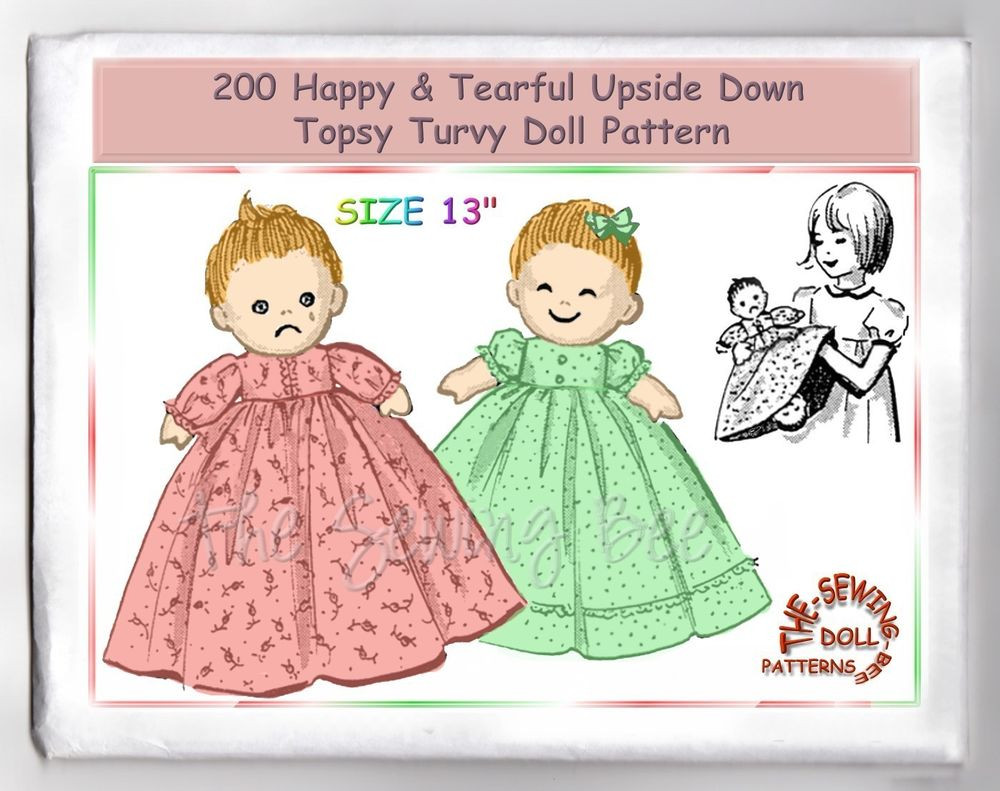Topsy Turvy Doll Pattern Best Of 200 Happy Tearful Upside Down topsy Turvy Doll Pattern Of Marvelous 49 Pics topsy Turvy Doll Pattern