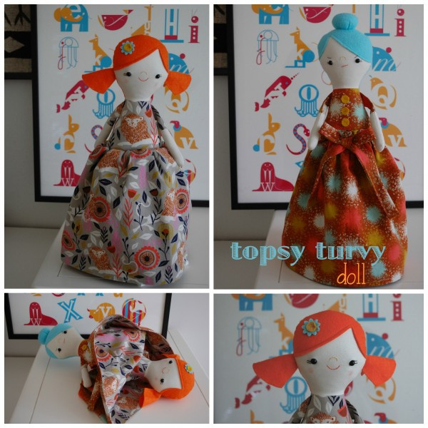 Topsy Turvy Doll Pattern Elegant Tess and Trixie topsy Turvy Doll whileshenaps Of Marvelous 49 Pics topsy Turvy Doll Pattern
