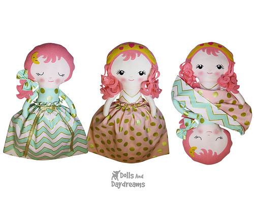 Topsy Turvy Doll Pattern Inspirational Dolls and Daydreams Doll and softie Pdf Sewing Of Marvelous 49 Pics topsy Turvy Doll Pattern