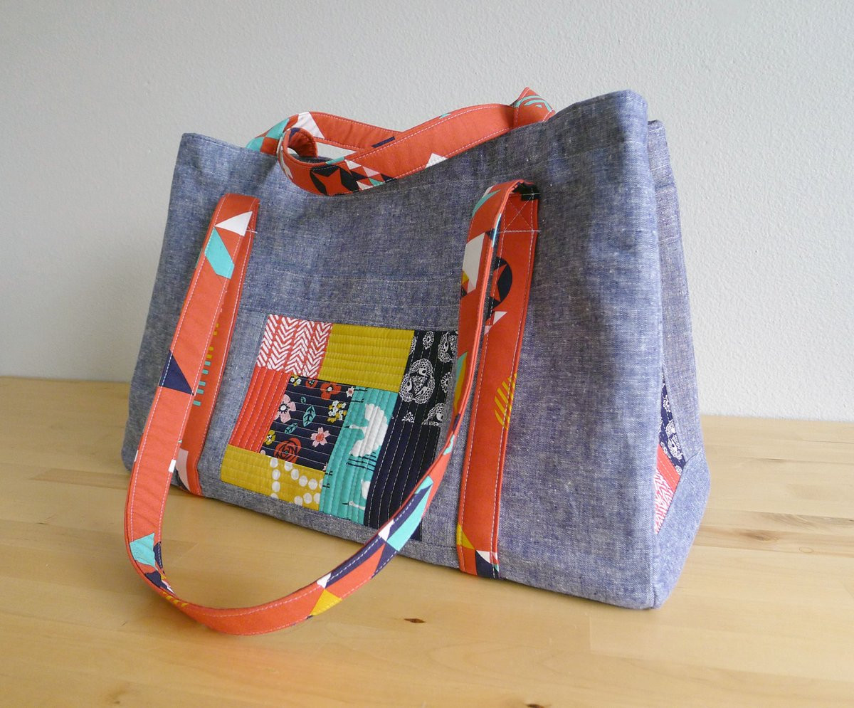 Tote Bag Pattern Awesome Patterns by Elizabeth Hartman — Sewing Circle tote Pdf Of Beautiful 46 Ideas tote Bag Pattern