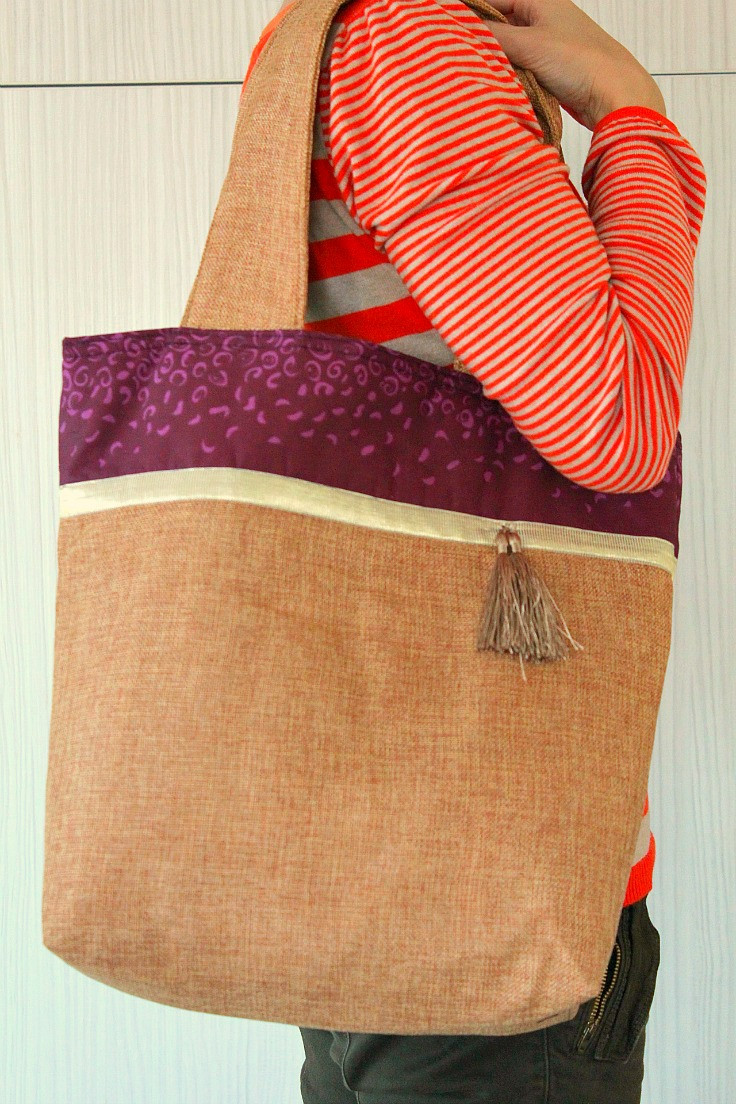 Tote Bag Pattern Best Of Color Block tote Bag Easy Sewing Tutorial for Beginner Sewers Of Beautiful 46 Ideas tote Bag Pattern