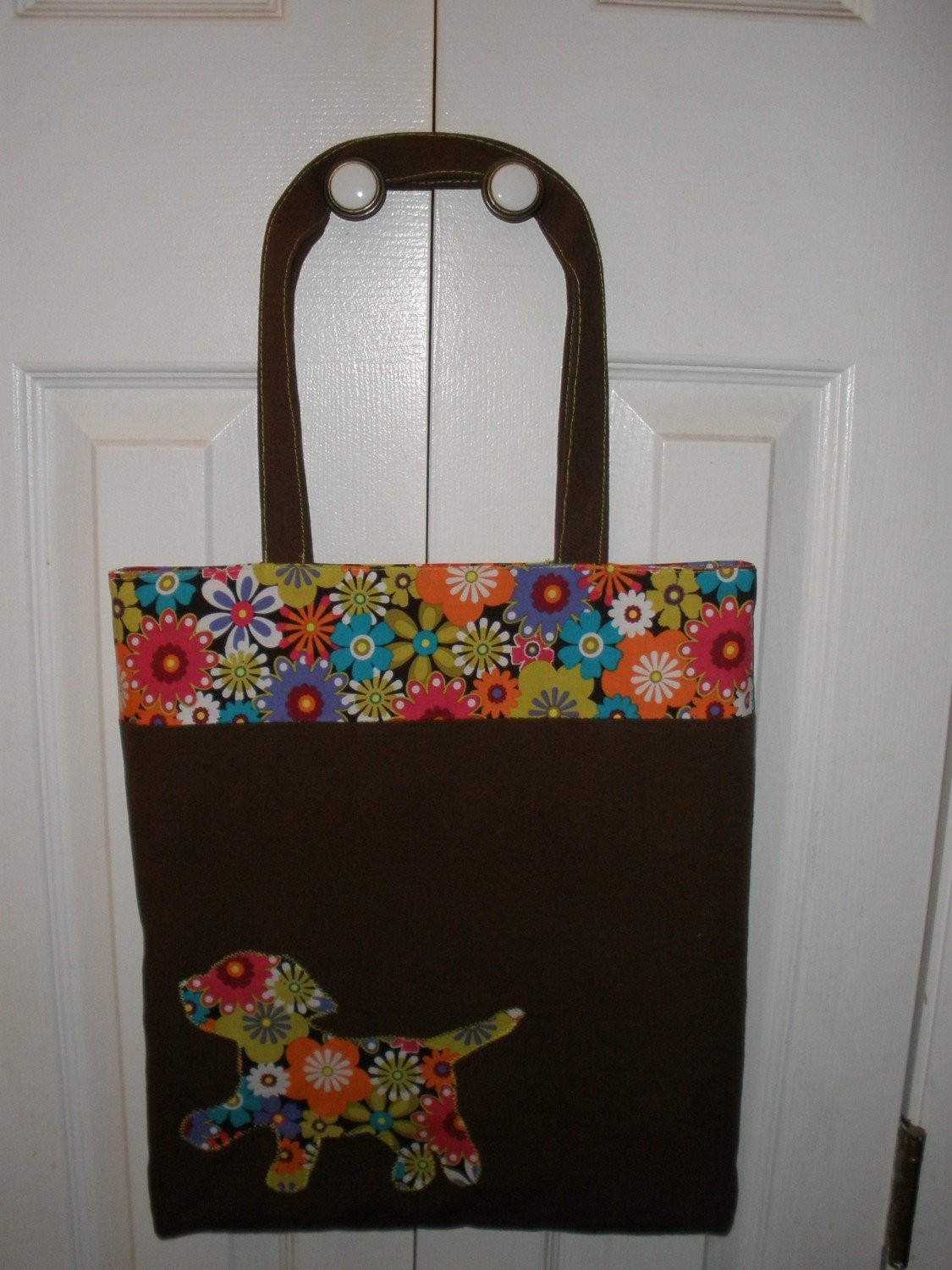 Tote Bag PDF Pattern includes Applique instructions Great for