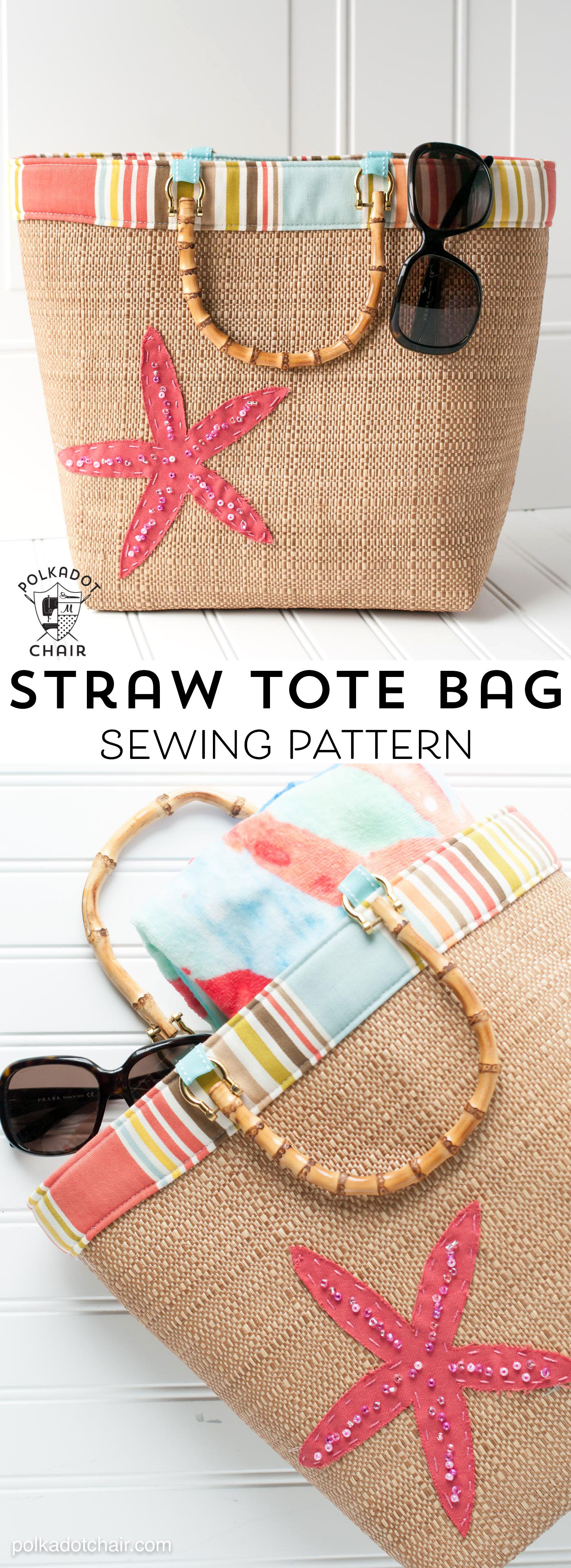 Tote Bag Pattern Unique Beach Bound Straw tote A Beach Bag Sewing Pattern Of Beautiful 46 Ideas tote Bag Pattern