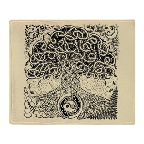 Tree Of Life Blanket Awesome Celtic Tree Of Life Ink Throw Blanket by Artoffoxvox Of Superb 44 Photos Tree Of Life Blanket