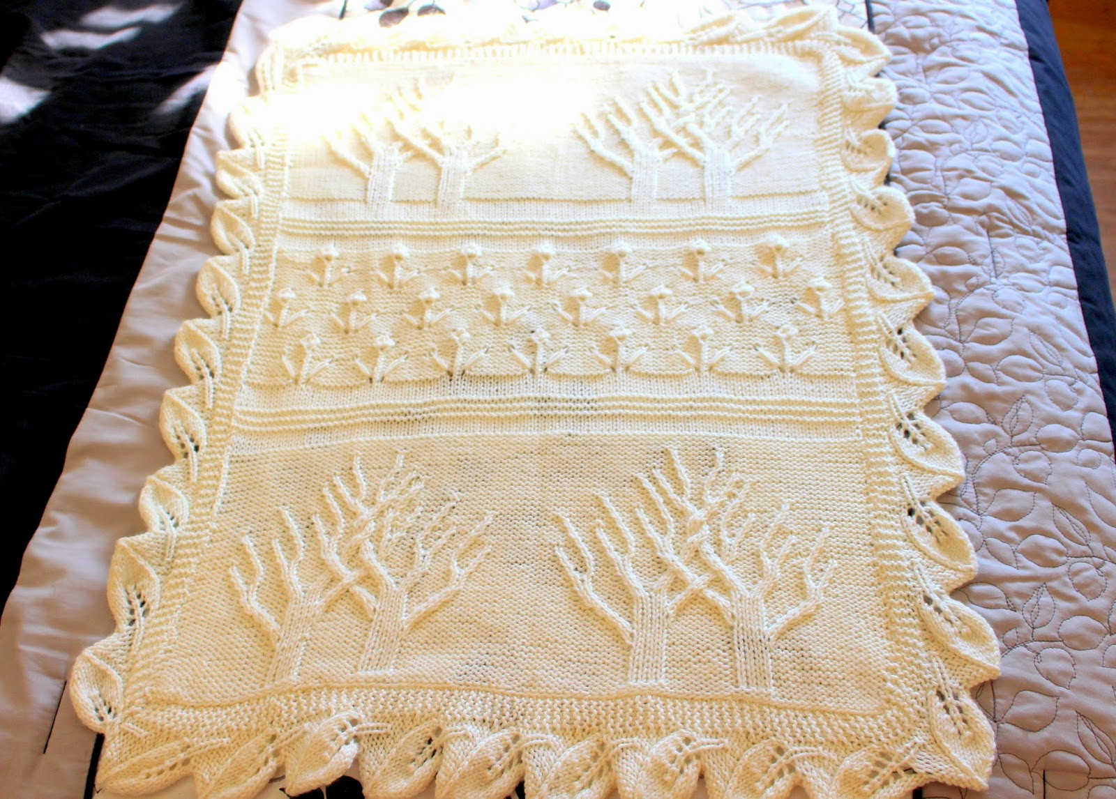 Clio & Phineas Tree of Life Baby Blanket
