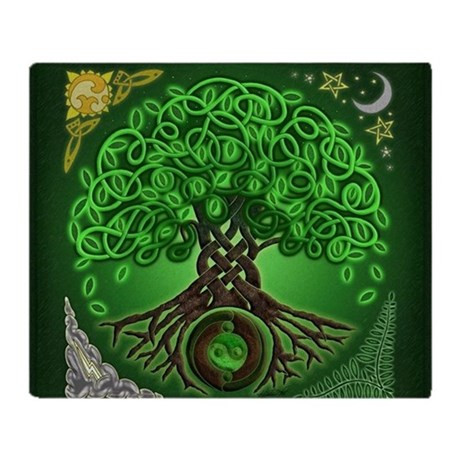 Tree Of Life Blanket Inspirational Circle Celtic Tree Of Life Throw Blanket by Artoffoxvox Of Superb 44 Photos Tree Of Life Blanket