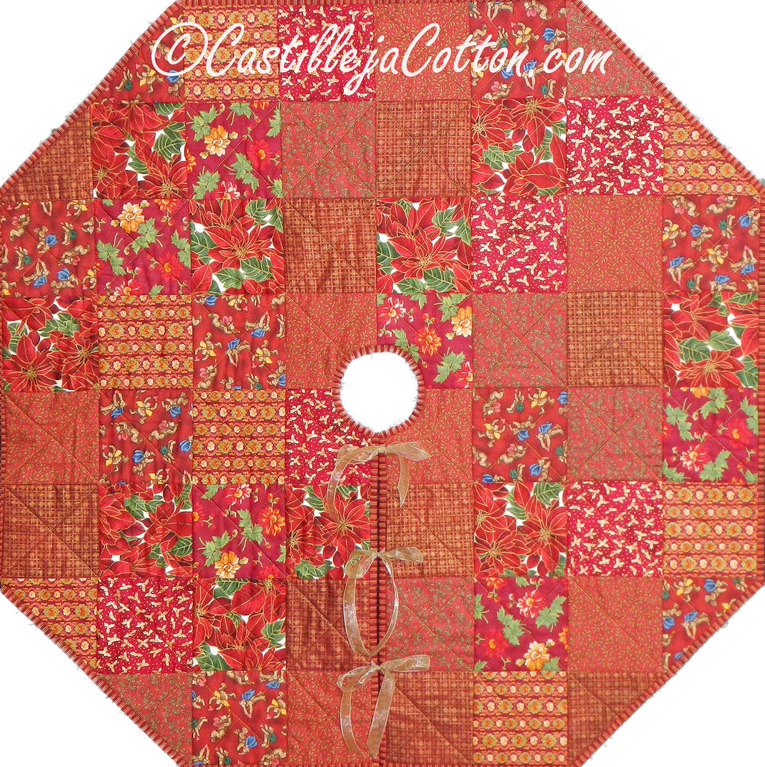 Tree Skirt Pattern Awesome Christmas Tree Skirt Quilt Epattern 4639 1 Tree Skirt Of Tree Skirt Pattern Elegant Christmas Goose Tree Skirt & Card Holder