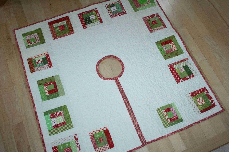 Tree Skirt Pattern Beautiful 20 Free Quilted Christmas Tree Skirt Patterns Of Tree Skirt Pattern Elegant Christmas Goose Tree Skirt & Card Holder