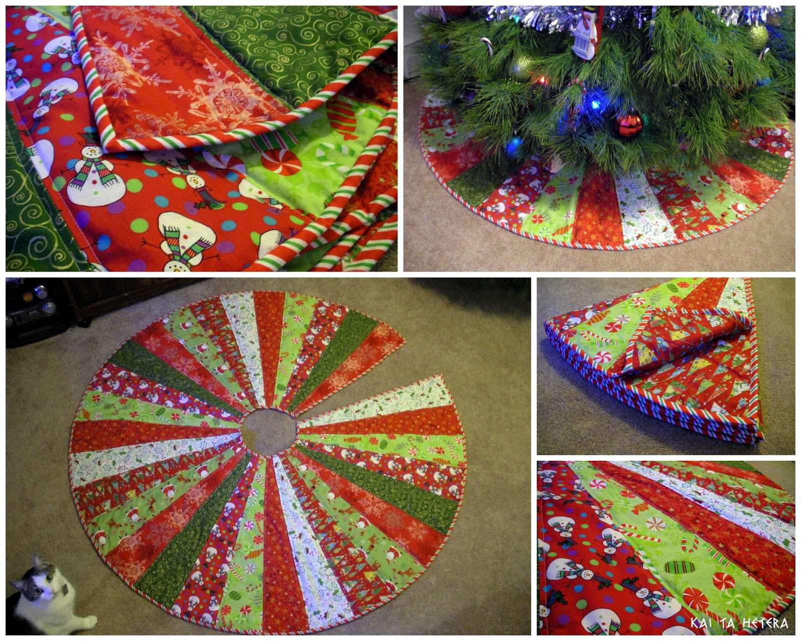 Tree Skirt Pattern Elegant Kai Ta Hetera Quilted Christmas Tree Skirt Of Tree Skirt Pattern Elegant Christmas Goose Tree Skirt & Card Holder