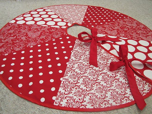 Tree Skirt Pattern Fresh 1000 Ideas About Christmas Tree Skirts On Pinterest Of Tree Skirt Pattern Elegant Christmas Goose Tree Skirt & Card Holder
