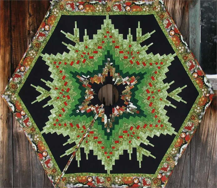 Tree Skirt Pattern Fresh Bargello Christmas Tree Skirt Pattern Intermediate Of Tree Skirt Pattern Elegant Christmas Goose Tree Skirt & Card Holder
