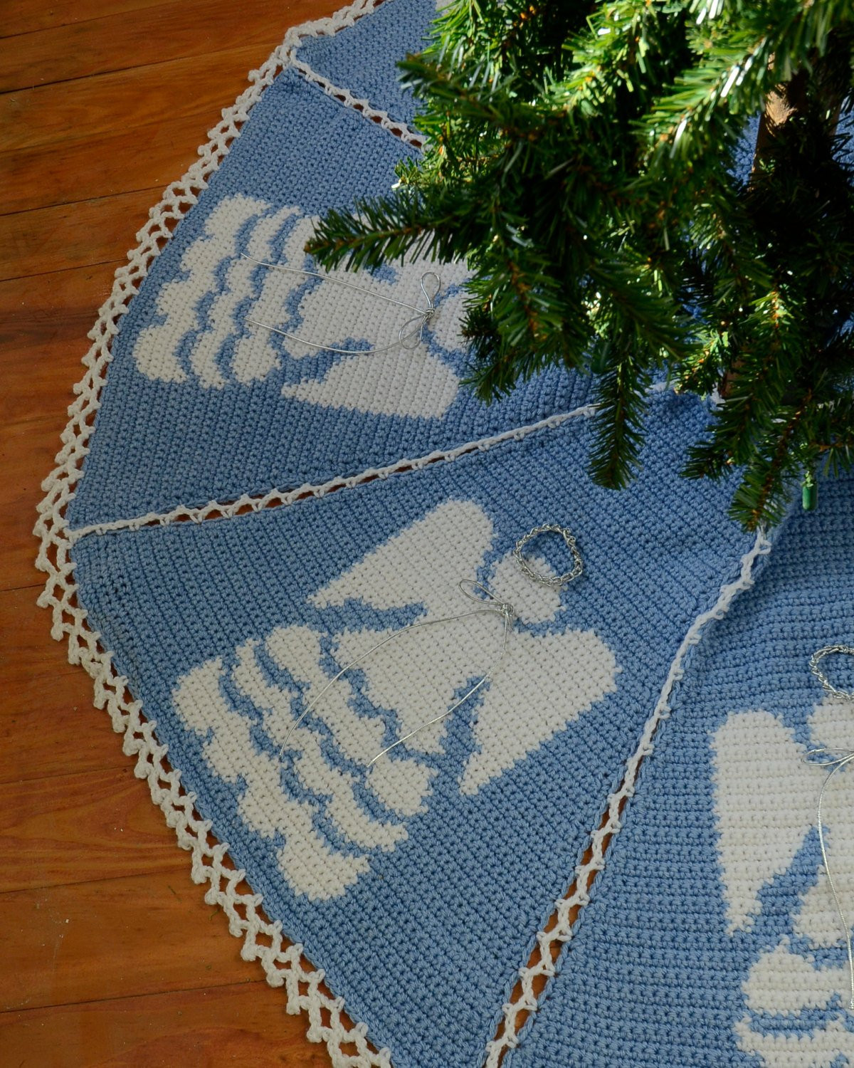 Tree Skirt Pattern Lovely Heaven Sent Tree Skirt Crochet Pattern Pdf Of Tree Skirt Pattern Elegant Christmas Goose Tree Skirt & Card Holder