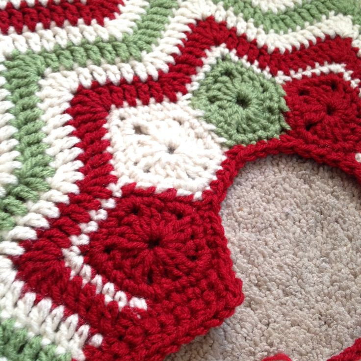 Tree Skirt Pattern New Crochet Christmas Tree Skirts – Happy Holidays Of Tree Skirt Pattern Elegant Christmas Goose Tree Skirt & Card Holder