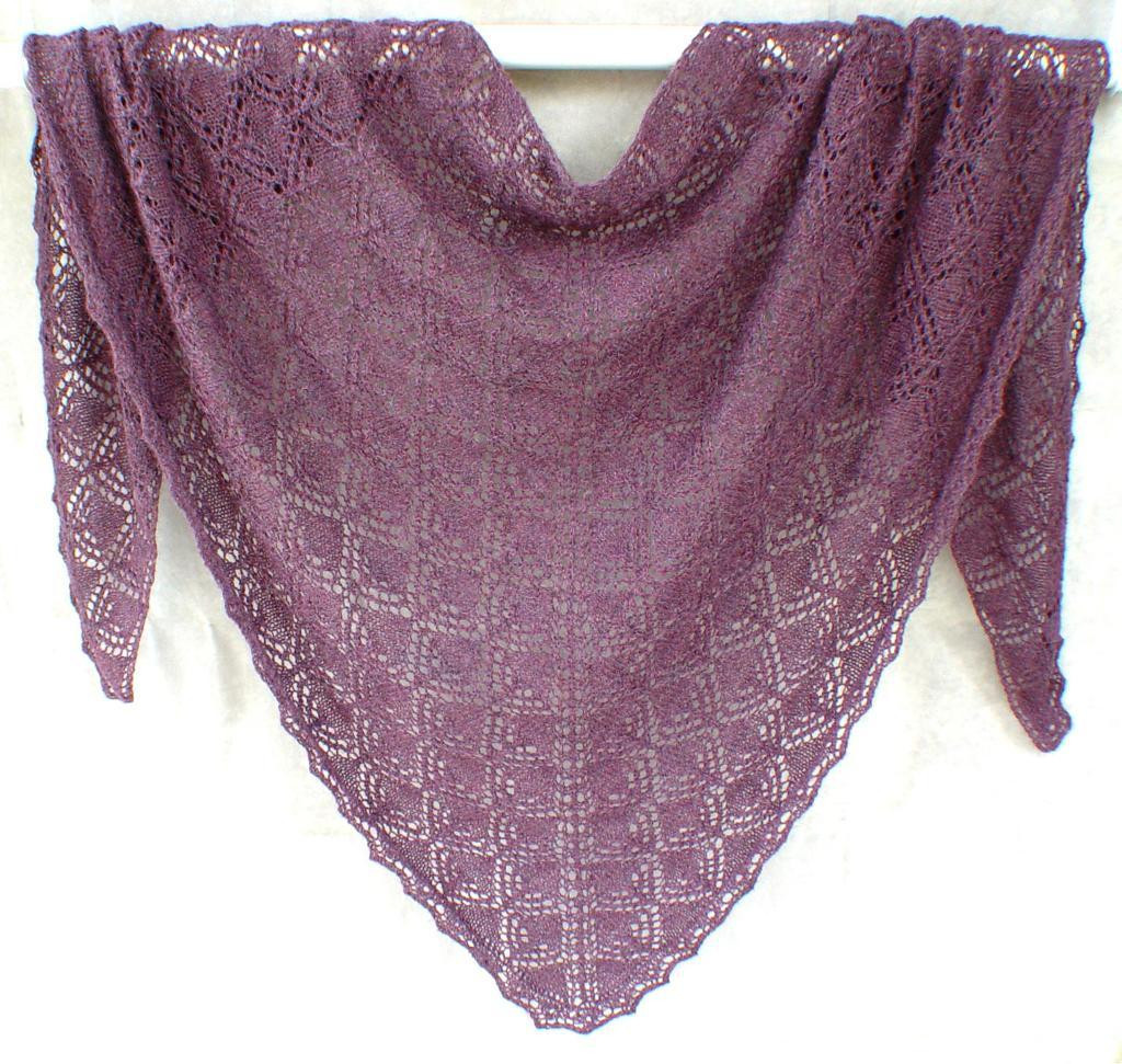 Triangles within Triangles Shawl by JackieES Craftsy