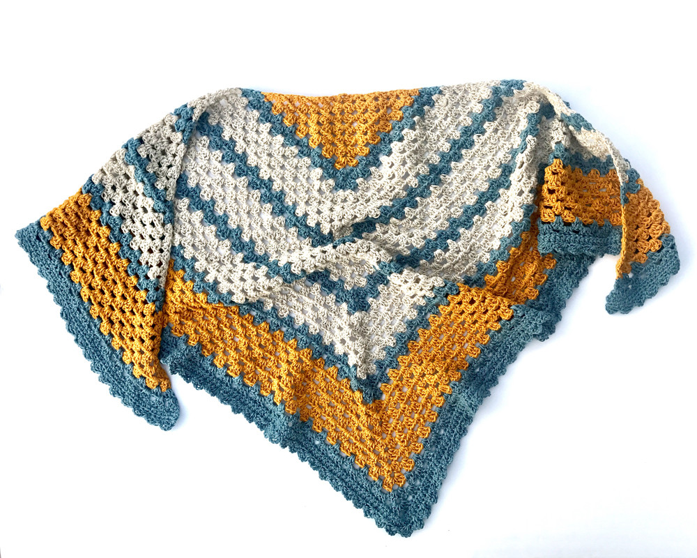 Triangle Shawl Pattern Unique A Sunny Day Triangle Shawl Crochet Pattern by Little Of Awesome 47 Photos Triangle Shawl Pattern