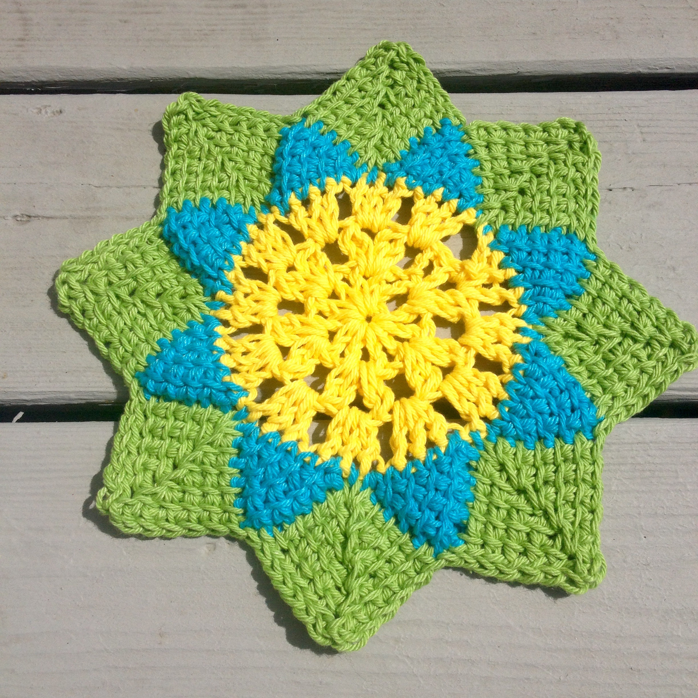 Tunisian Crochet Patterns Luxury Spring Flower Dishcloth Free Tunisian Crochet Pattern Of Marvelous 45 Pics Tunisian Crochet Patterns