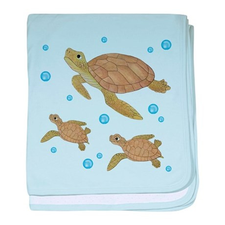 Turtle Baby Blanket Best Of Sea Turtle Baby Blanket by totsofun Of Contemporary 49 Pics Turtle Baby Blanket