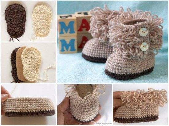Ugh Crochet Boots Awesome Baby Ugg Boots Crochet Tutorial S and Of Charming 49 Models Ugh Crochet Boots