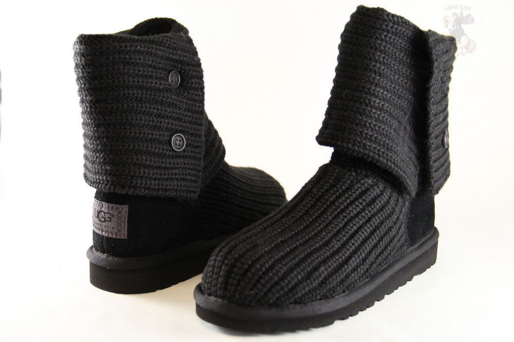 Ugh Crochet Boots Awesome Kids Ugg Australia Classic Cardy 5649 Black Crochet Of Charming 49 Models Ugh Crochet Boots