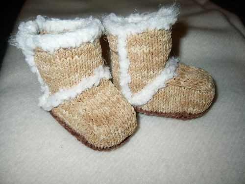 Crochet Ugg Booties Pattern Free Easy Video Tutorial